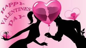 happy valentine day romantic couple