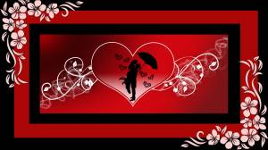 romantic  love couple image