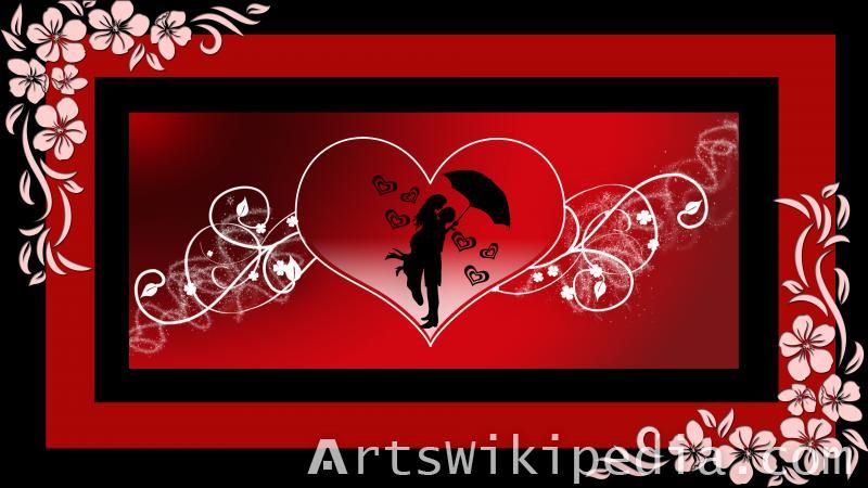 romantic  love couple image