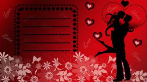 love-card-red-color