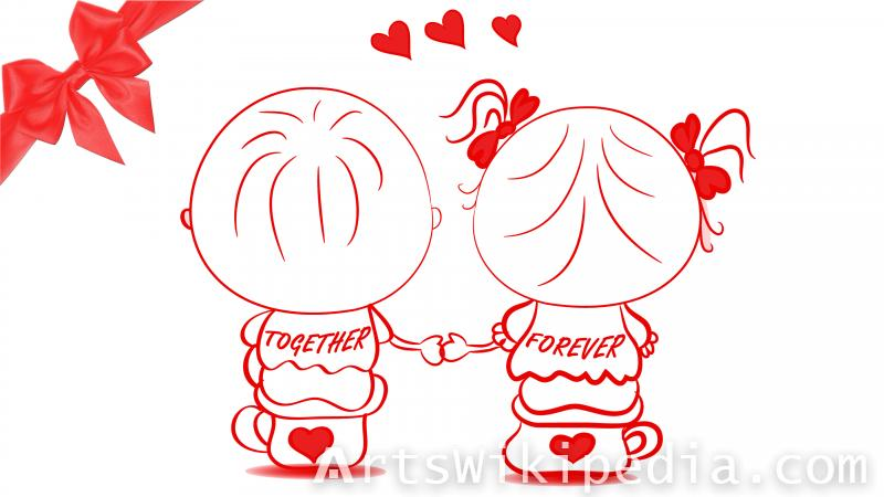 valentine day romantic  image