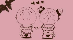 together forever romantic image