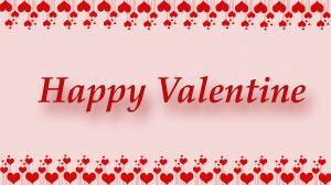 happy valentine image