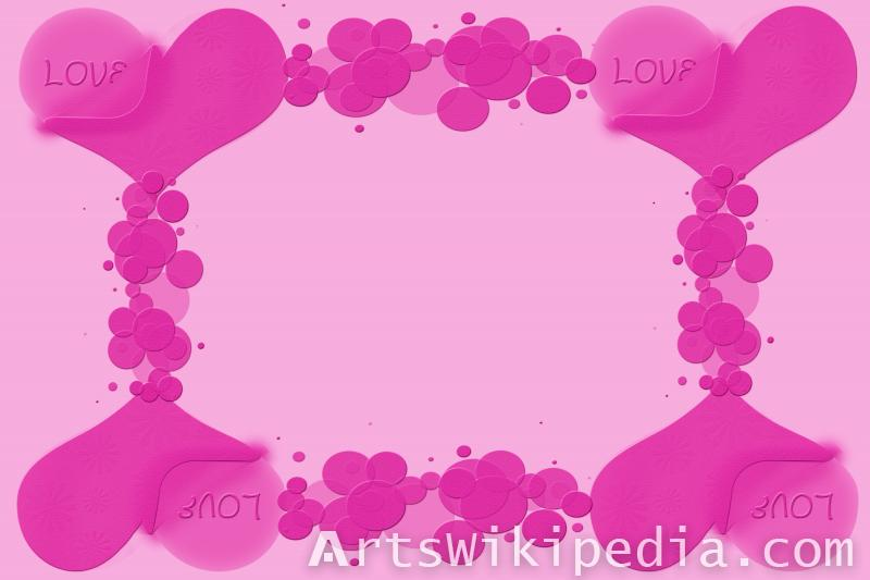 hearts and bubbles image