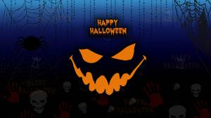 happy halloween evil wallpaper