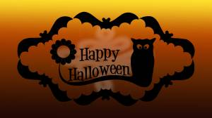 happy halloween card image