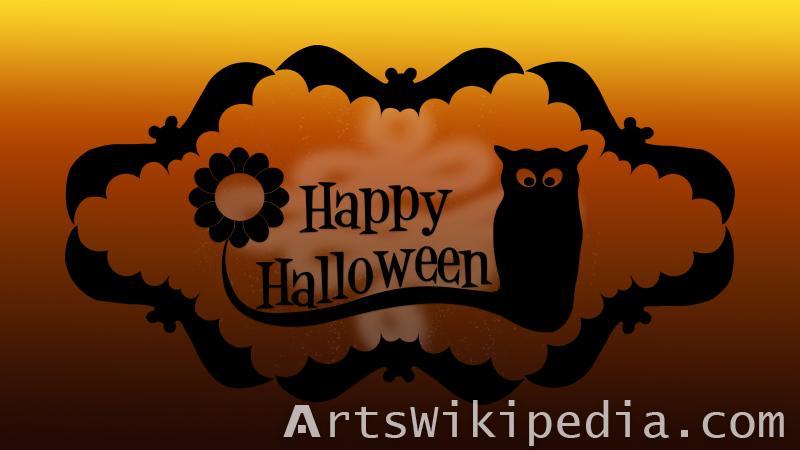 happy halloween card image