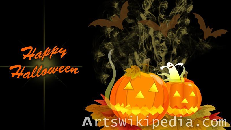 happy halloween dark image