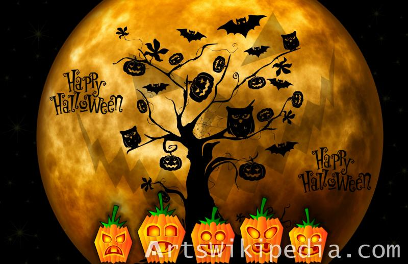 happy halloween fear picture