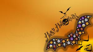 Bat halloween wallpaper
