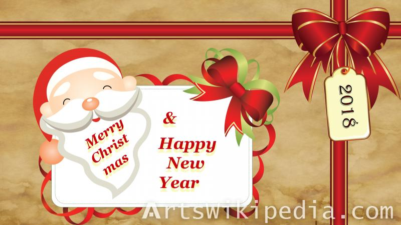 merry christmas happy new year card wallpaper merry christmas happy new year card wallpaper