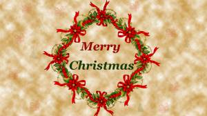 merry christmas decoration image