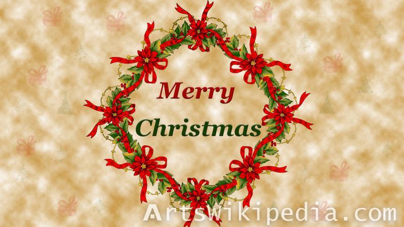 merry christmas decoration image