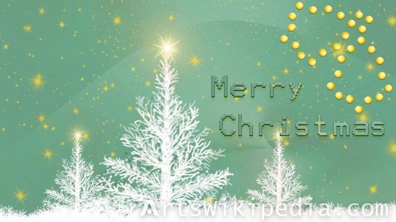 merry christmas snow image