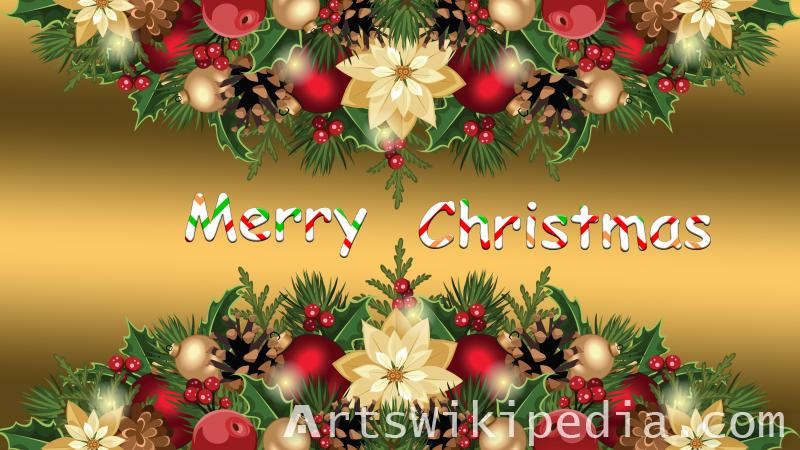 candy and christmas decoration image