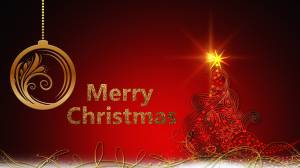 merry christmas glitter image