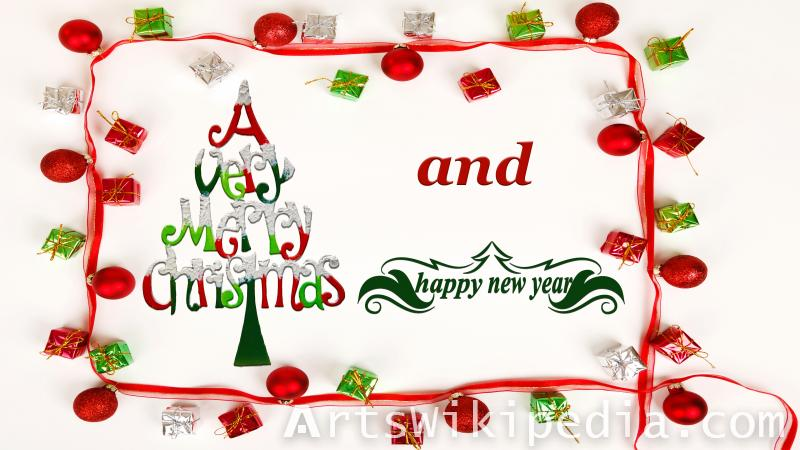 christmas & new year picturee