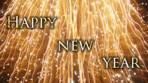 happy new year shiny image