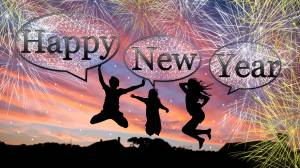 happy new year people image