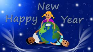 happy new year cartoon image