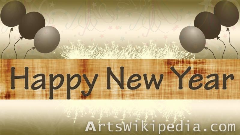 happy new year celebration wallpaper