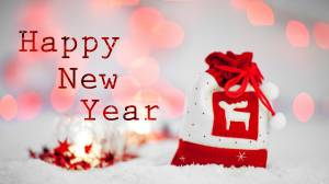happy new year gift image