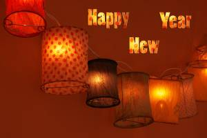 happy new year decoration wallpaper