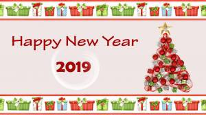 happy new year 2019 wallpaper