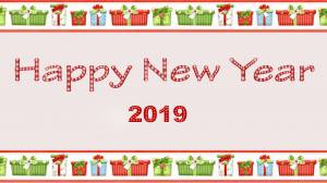 happy new year 2019 shiny image