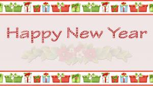 happy new year decoration picture