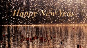 happy new year glossy picture