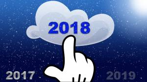 2018 new year welcome image