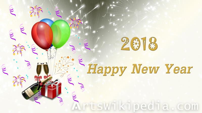 2018 new year celebration image