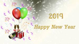 2019 new year celebration image