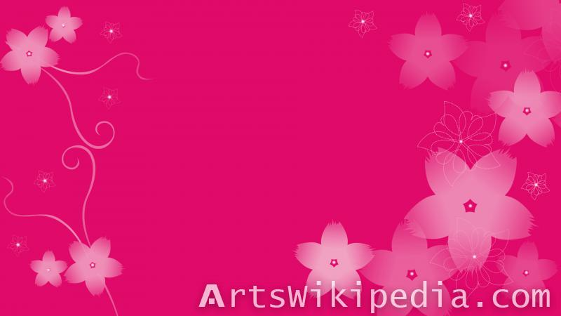 dark pink flowers wallpaper