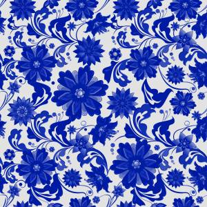 pattern-flowers-blue-and-white-picture