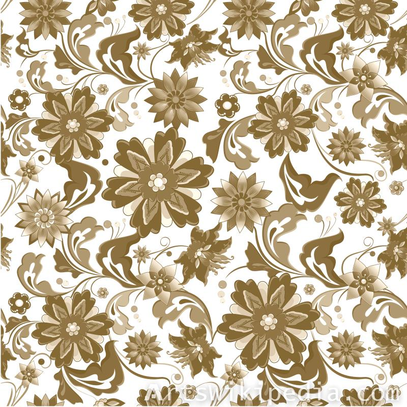 pattern flowers image