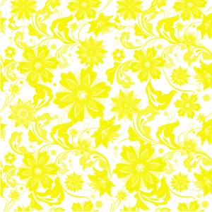 pattern-flowers-yellow-image