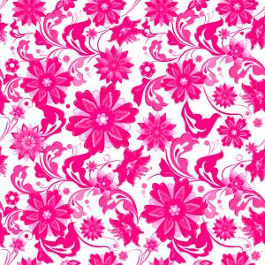 pattern-pink-and-white-flowers-image