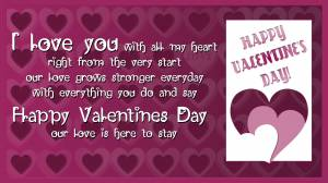 love quotes for valentin's day purple picture