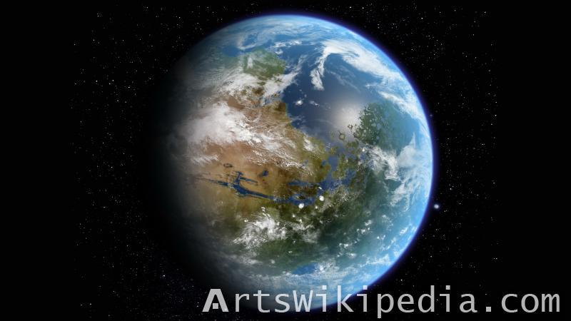 8K Earth image