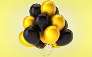 gold-and-black-balloons
