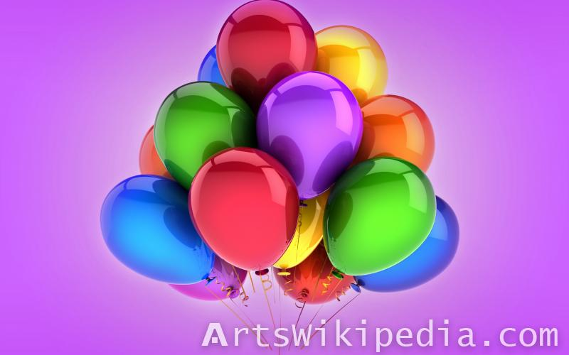 Colorful balloons Collection
