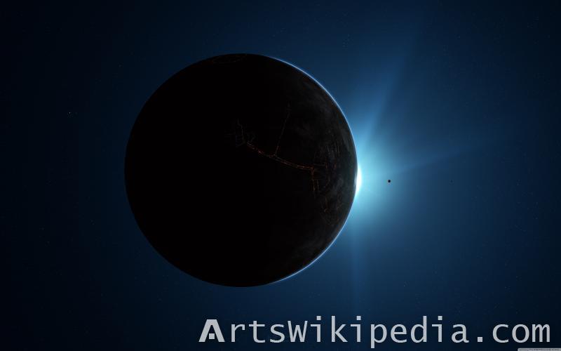 Earth Behind The Sun