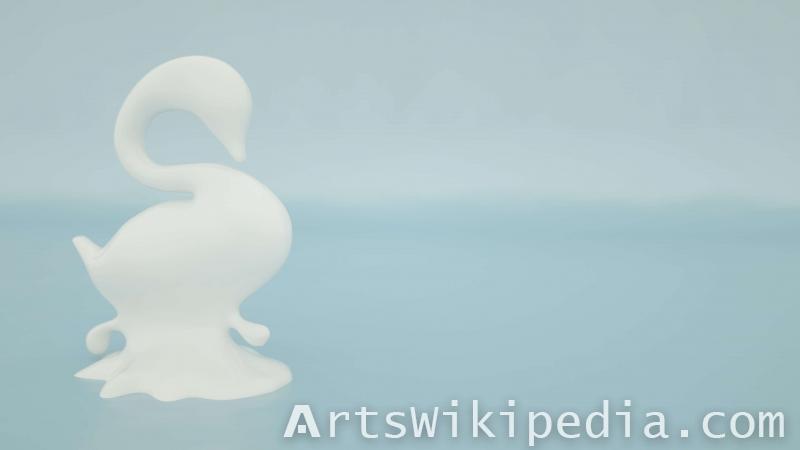white swan image