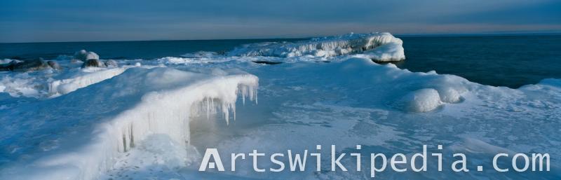 winter ocean image