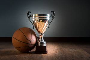 Basket Ball Silver Cup