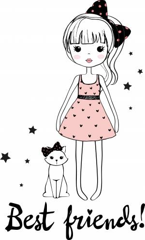 cartoon-girl-with-cat