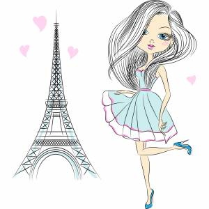 paris-fashion-cartoon-girl