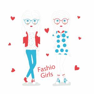 fashion-girls-line-arts